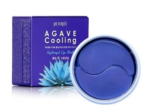 Набор патчей д/век гидрогел. АГАВА Agave Cooling Hydrogel Eye Mask Корейская косметика PETITFEE